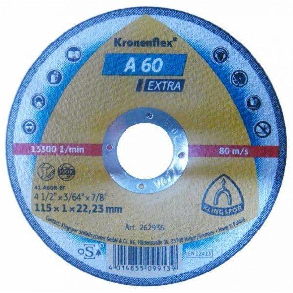 Disc Kronen, Panza Flex taiat metal / inox 115 mm
