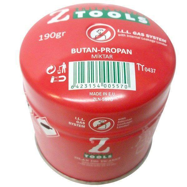 Doza gaz, Z Tools, Butan-propan, 190 g