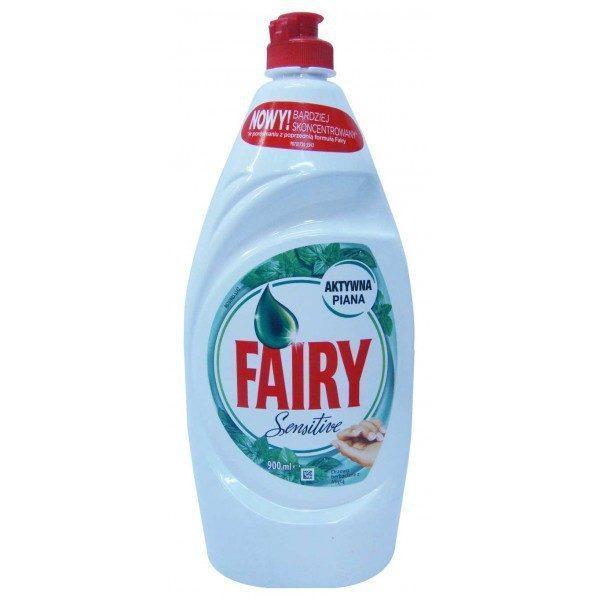 Detergent vase Fairy sensitive menta 900ml