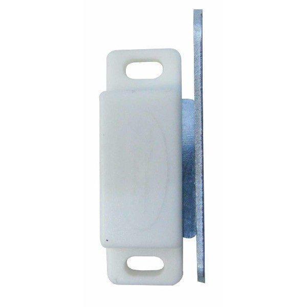 Pachet 6 bucati, Magnet pentru profil - Plase insecte (Alb)