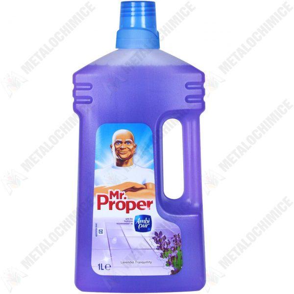 Mr proper flower & spring 1L  din categoria Solutii pentru pardoseli si covoare