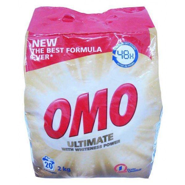 Pachet 2 bucati - Detergent automat, OMO, 2 kg