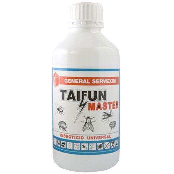 Pachet 2 bucati - Taifun Master 1L, insecticid universal ( echivalent regent ), otrava gandaci, plosnite, purici, muste, tantari, molii, omizi, 2 X 1000ml