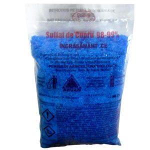 Piatra Vanata / Sulfat de Cupru 1kg, pentru zeama bordeleza