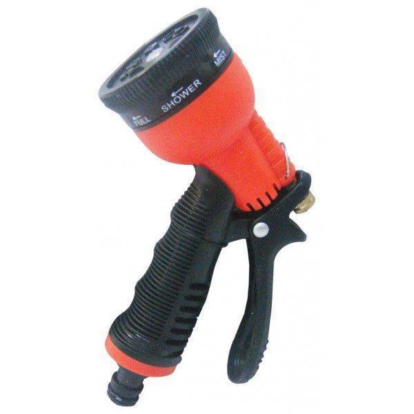 Pachet 3 bucati - Pistol pentru furtun apa (Portocaliu-Negru)
