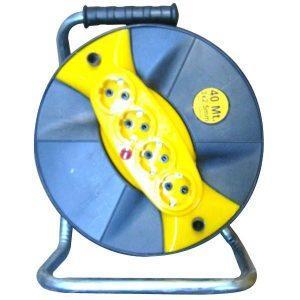 Prelungitor 4 prize, tambur, fir 3x2,5mm, 40M
