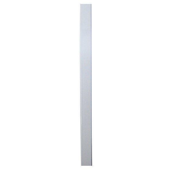 Profil aluminiu plasa tantari (insecte), alb, 100 cm