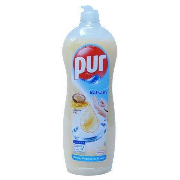Pachet 12 bucati - Pur, Detergent pentru vase, Cu ulei de argan, 900 ml
