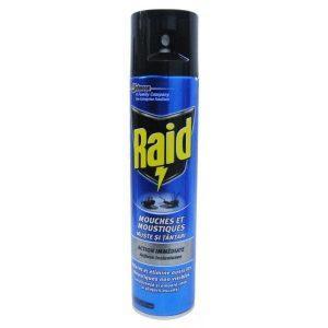 Raid insecticid pentru muste si tantari 400ml