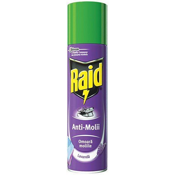 Raid spray anti-molii lavanda 250ml