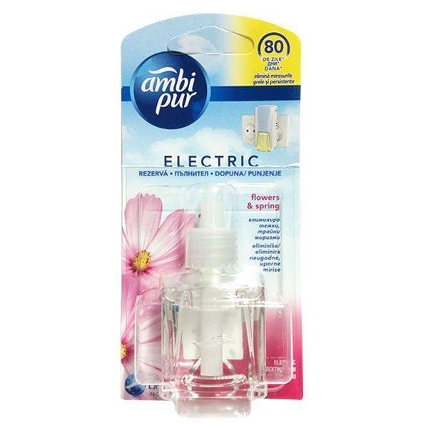 Rezerva electrica, Ambi Pur flori de primavara, 20 ml