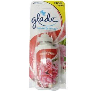 Rezerva odorizant, Glade sense and spray 18ml, Luscious Cherry & Peony