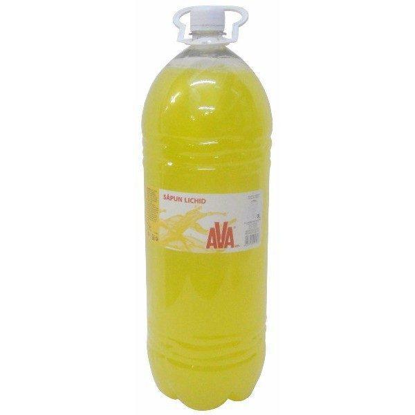 Sapun lichid, Ava, Galben, 3L 1