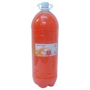 Sapun lichid, Ava, Portocaliu, 3L