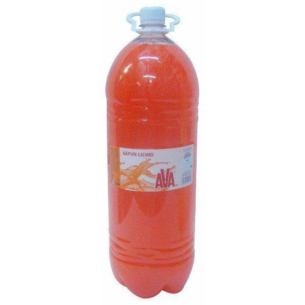 Sapun lichid AVA, Portocaliu, 3L