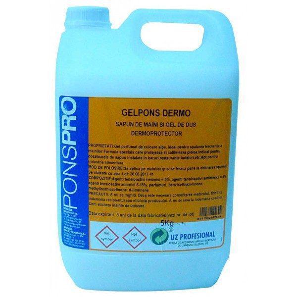 Pachet 2 bucati - Sapun lichid, Profesional, Pons, 5L