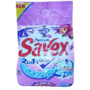 Detergent rufe, Savex 2 in 1, automat, Color, 2kg