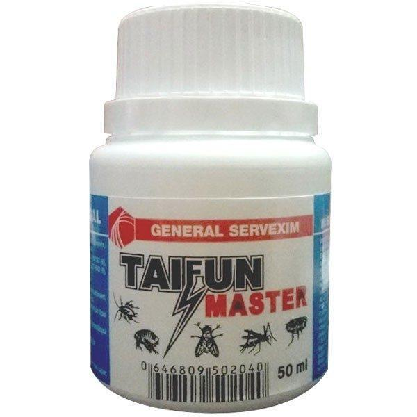 Pachet 10 bucati - Taifun 40ml, insecticid universal ( echivalent regent ), otrava gandaci, plosnite, purici, muste, tantari, molii, omizi, 10 X 40ml