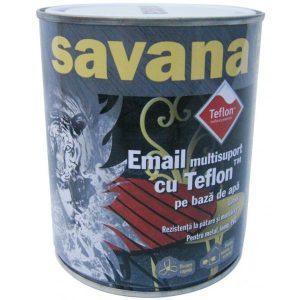 Vopsea alba pe baza de apa Savana 0.75l