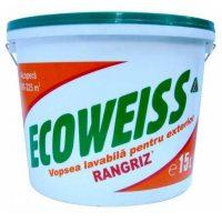Vopsea lavabila Ecoweiss de exterior