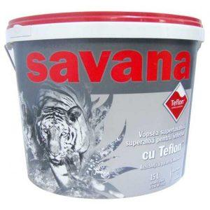 Vopsea lavabila Savana de interior cu teflon
