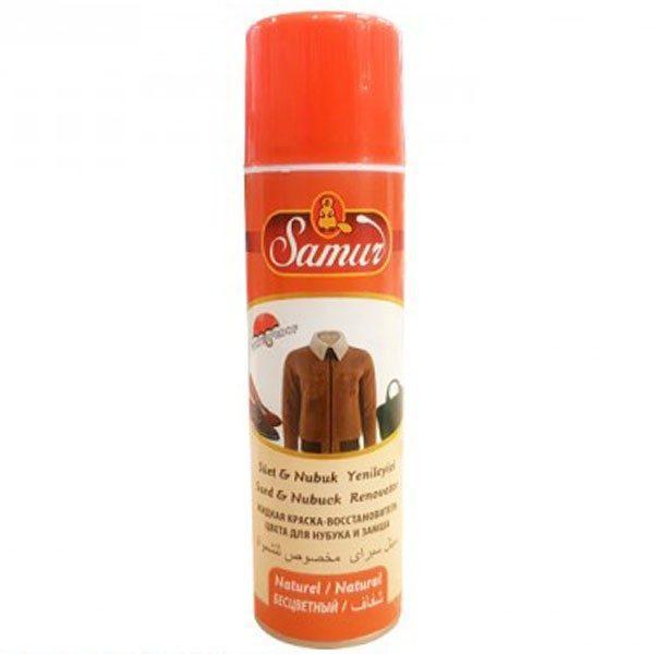 Vopsea spray, piele intoarsa, impermeabil, incolor, 250ml 1