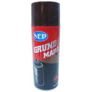 Vopsea spray, SEP, grund maro, 400ml