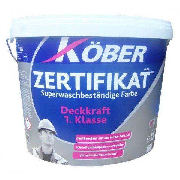 Vopsea super lavabila, Kober Zertifikat, 15l / 24kg