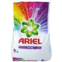 ariel color 2kg detergent automat pudra cu parfum proaspat floral