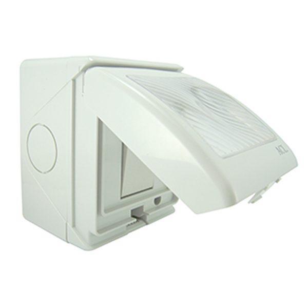 Intrerupator PT cu protectie umiditate, Pentru exterior/interior, 13A