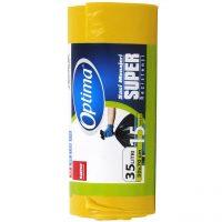 Sano Optima, saci menaj 35 litri, galben  din categoria Saci pentru gunoi