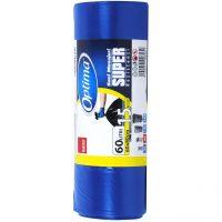 Sano Optima Saci menajeri 60 L, albastri, 15 buc  din categoria Saci pentru gunoi
