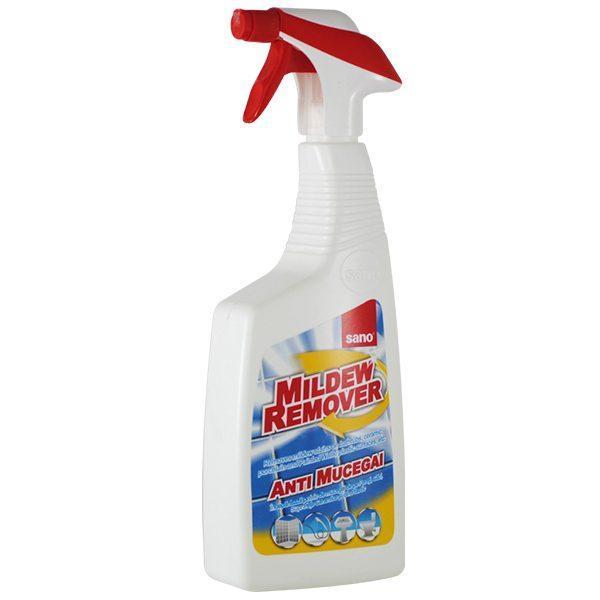 Sano Mildrew Remover, Solutie anti mucegai cu pulverizator, 750 ml