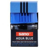 sano aqua blue odorizant wc solid anti bacterii 100g 2