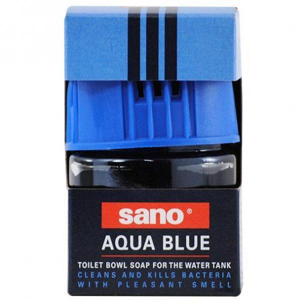 Sano Aqua Blue, Odorizant WC solid, Anti-bacterii, 100g
