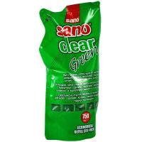 sano clear green rezerva solutie pentru curatat geamuri 750ml 1