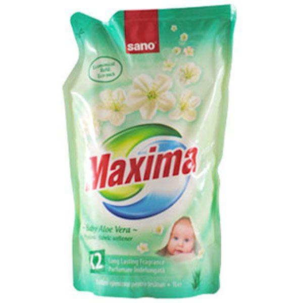 sano maxima baby aloe vera rezerva balsam igienizant pentru rufe 1l