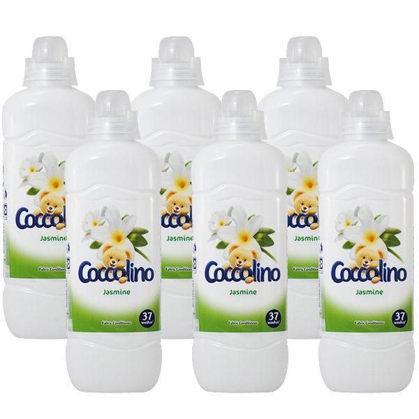 Balsam de rufe Coccolino Iasomie, Pachet 6x925ml