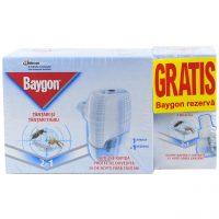 Pachet - 5 x Baygon Aparat + 10 Rezerva lichida anti-tantari, Impotriva tantarilor si tantarilor tigru  din categoria Aparate impotriva insectelor