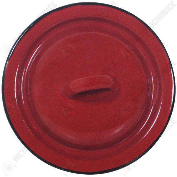 Capac bombat 14 cm rosu