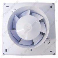 Pachet 1 + 1 - Ventilator pentru baie, 100mm + Grila aerisire, Rotunda, Reglabila  din categoria Electrice