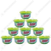 pachet 10 bucati axion mar verde degresant pentru vase pasta pentru curatat 10 x 225g