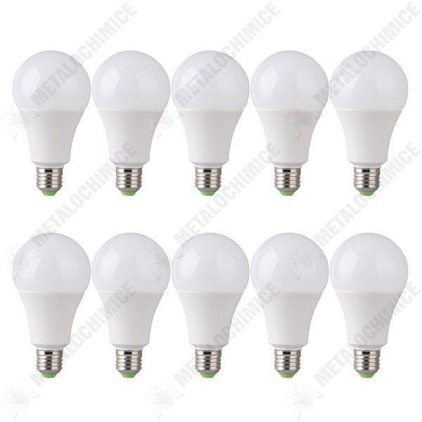 Pachet 10 bucati, Bec LED, Economic ,10W, Fasung E27
