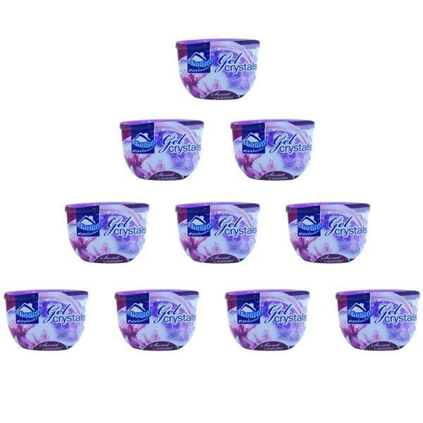 pachet-10-bucati-odorizant-camera-at-home-exclusive-cristale-gel-lavanda-150g