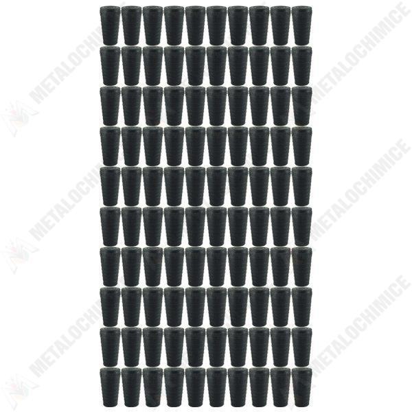 Pachet 100 bucati - Dop pentru sticla, Din cauciuc, 1L - 2L