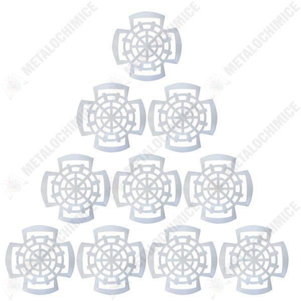 Pachet 100 bucati - Presa muraturi pentru borcane, compatibile cu borcanele de 300g - 400g