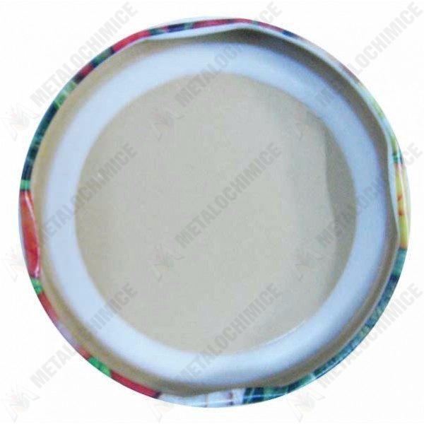 Pachet - 100 x Capac borcan 100mm, Capace pentru borcane din sticla prin infiletare + 100 x Presa muraturi pentru borcane, compatibile cu borcanele de 1.7L-2L-3L-5L