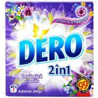 pachet 12 bucati dero 2 in 1 automat levantica si iasomie detergent de rufe la cutie 3 spalari 12 x 300g 2