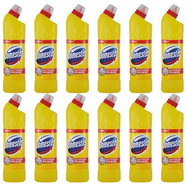 Pachet 12 bucati - Domestos Citrus Fresh, Dezinfectant universal pentru wc, 12 x 750ml