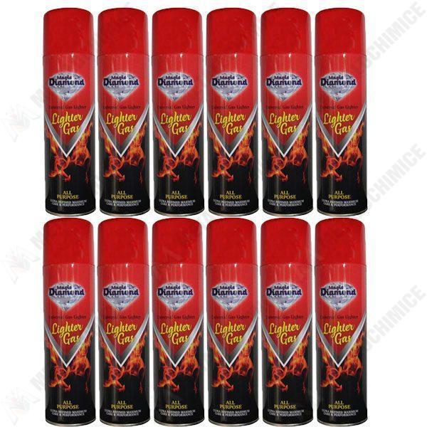 Pachet 12 bucati - Spray Gaz pentru incarcat bricheta 12 X 270ml
